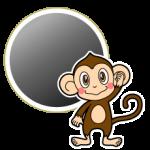 ブラックの猿